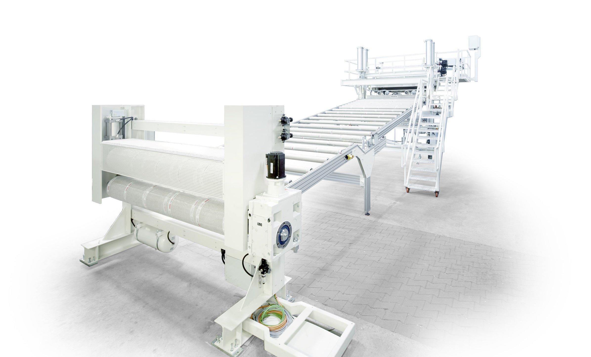 Stahlteam GmbH – Maschinenbau – Rollenkühlstrecke